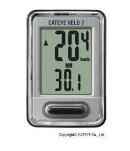 Ciclocomputador Cateye VL520 Velo 7