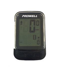 Ciclocomputador Prowell 28 funções Cadência + Cardio