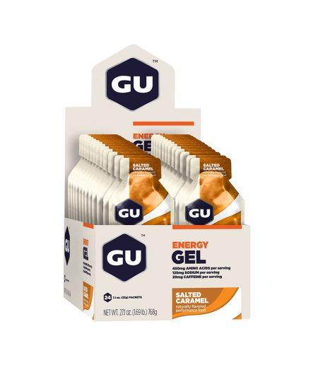 Gu Energy Gel Caramelo – Caixa Com 24 Sachês 32g-Validade MAIO/2020