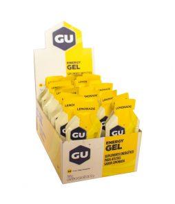Gu Energy Gel Lima Limão – Caixa Com 24 Sachês 32g-VALIDADE DEZ/2020