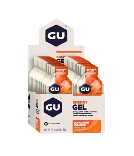 Gu Energy Gel Laranja – Caixa Com 24 Sachês 32g-Validade Maio/2021