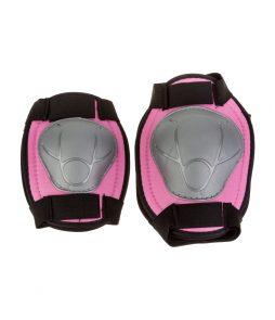 Joelheira e cotoveleira Infantil kit EPIC LINE Rosa