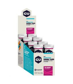 Gu Energy Tab Hidratação Sabor Triberry *Caixa c/ 8 Tubos c/ 12 Unidades-Validade Março 2021