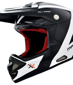 Capacete Mattos Racing MX Pro – Branco/Preto