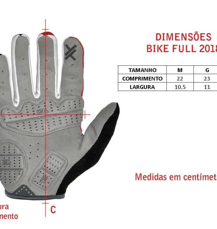 Luvas Mattos Racing Bike Full Preto
