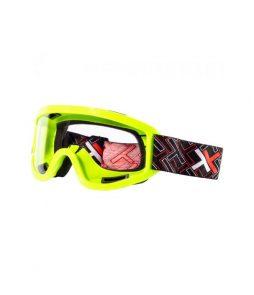 Óculos Mattos Racing MX Transparente- Amarelo Fluor Tam único