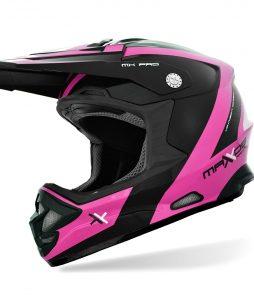 Capacete Mattos Racing MX Pro – Rosa Fosco/Preto