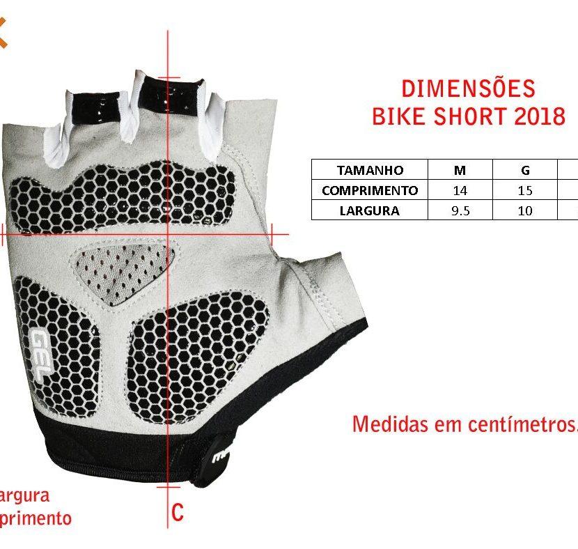 Luvas Mattos Racing Bike Short Amarelo Fluor