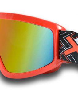Óculos Mattos Racing MX Espelhado – VERMELHO Tam único
