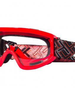 Óculos Mattos Racing MX Lente Transparente- VERMELHO Tam único (cópia)