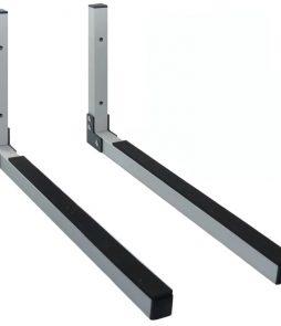 Suporte De Parede Aluminio UL316A Prata